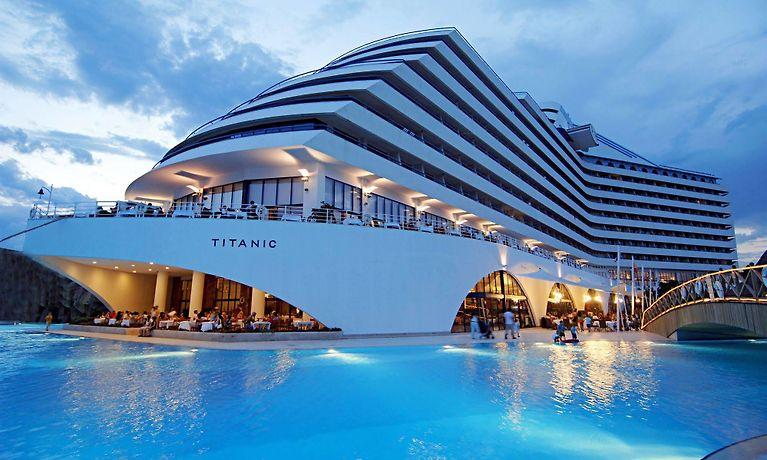 Titanic Beach Lara Antalya